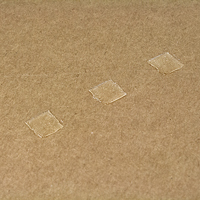 Glue Square Adhesive on Paperboard