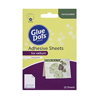 Glue Dots® Adhesive Sheets for Vellum